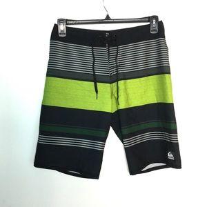 Quicksilver 30 XS Board Shorts Trunks Swim Striped